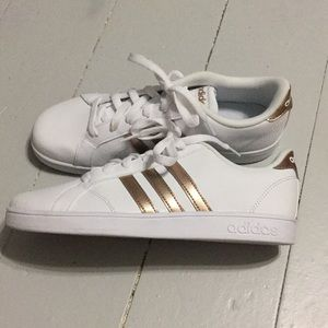 adidas Shoes - Adidas rose gold tennis shoes